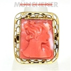 - Ring, 750/Gelbgold,